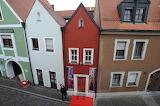Eh'häusl, world's smallest hotel, Amberg, Germany