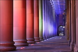 Columns of color