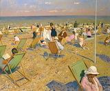 Robert Duckworth, On the beach, 1968