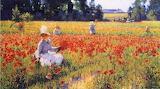 In Flanders Fields by Robert Vonnoh 1890