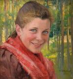 Albert Edelfelt, A Girl from Porvoo
