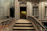 Stairs entrance door palace Portugal