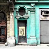 Abandoned hair salon Budapest Hungary