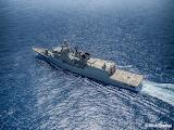 The Greek frigate Psara (F-454) by Nick Thodos