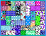Patchwork Quilt design 5b