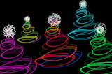 Abstract Tree Lights