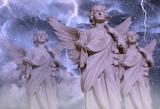 Angel-lightning-rain-religion