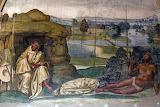 Abbazia Monte Oliveto Maggiore Siena affresco Sodoma 08 impurità