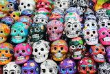 Colorful-skulls