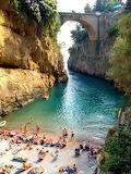 Beautiful Beach, Furore, Amalfi Coast, Italy