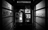 Inside phonebooth