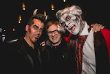 Handsome Men At Halloween