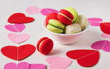Hearts and Macarons
