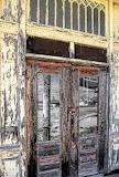 Locked store doors