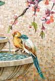 Birds Mosaic Painting