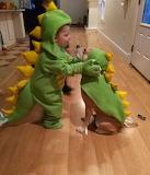 2 Halloween Dinosours