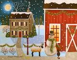 ^ Barnyard Friends ~ Mary Charles