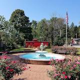 Caboose & Fountain - Jefferson County History Center