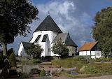 Round Church Østerlars Bornholm Denmark