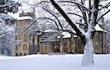 Fonthill Castle in Winter Pennsylvania USA