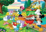 Mickey and Friends Chilling Out