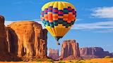 Hot Air Balloon near Grand Canyon