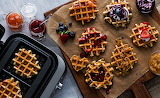 Fruit and Waffles