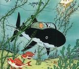 Le Trésor de Rackham le Rouge cover illustration by Hergé