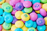 #Pastel Colored Easter M&Ms