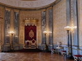 Throne Hall Christiansborg Castle Copenhagen Denmark