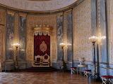 Throne Hall Christiansborg Castle Copenhagen Denmark