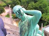 Apostle sculpture Notre Dame de Paris