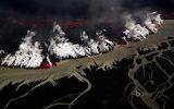 Holuhraun volcanic eruption. Iceland
