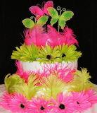 Fluorescent Nature Cake