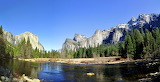 Parks Mountains Forests Rivers USA Yosemite g