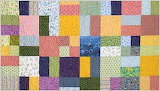 4 patch shuffle quilt
