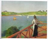 Emile Bernard, Après-midi à Saint-Briac, 1887
