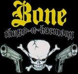 Bone Thugs-N-Harmony Skull & Guns Logo