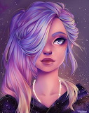 Pink/Purple Hair by Nataliadsw
