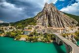 Sisteron-Francia