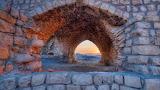 Ruins in Safed, Israel 20130623