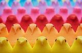 POTW Rainbow Peeps for Easter