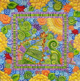 painted quilt, Colleen Barnhardt