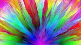 Rainbow Colour Burst