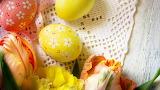 Flowers - eggs - tulips - easter