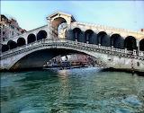 Bridge over canal Venice Italy