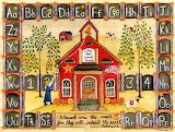 Little Red School House Cheryl Bartley