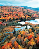 Catskills Mountains fall colors New York State