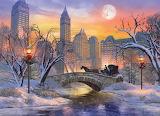 Christmas Eve in New York - Dominic Davison