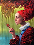 Butterfly by Michael Cheval